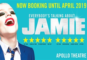 Everybody's Talking About Jamie Theatre Vouchers | Show and Dinner Gift Voucher Package for Two