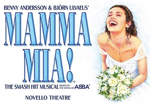 Mamma Mia theatre vouchers | Mamma Mia theatre tokens | Mamma Mia musical and dinner theatre gift experience package for two