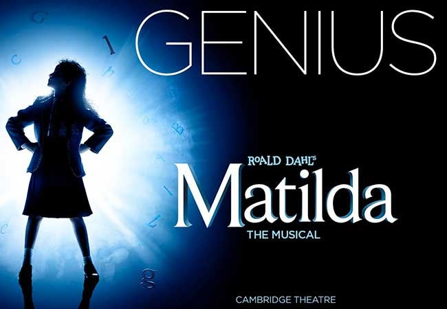 Matilda theatre vouchers | Matilda theatre tokens | Matilda musical and dinner theatre gift experience package for two