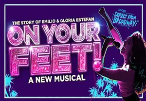 On Your Feet theatre vouchers | On Your Feet theatre tokens | On Your Feet musical and dinner theatre gift experience package for two