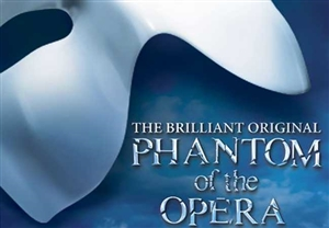Phantom of the Opera theatre vouchers | Phantom of the Opera theatre tokens | Phantom of the Opera musical and dinner theatre gift experience package for two