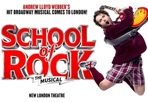School Of Rock theatre vouchers | School Of Rock theatre tokens | School Of Rock musical and dinner theatre gift experience package for two