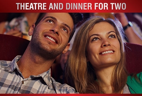 theatre tokens | theatre tokens with dinner experience package for two