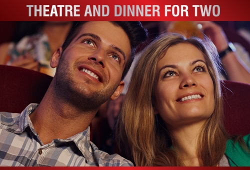 top price theatre tickets and dinner voucher