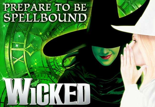 Wicked theatre vouchers | Wicked theatre tokens | Wicked musical and dinner theatre gift experience package for two