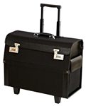 Portable Salon Barber Cosmetic Combination Lockable Wheeled Tool Bag