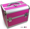 Aluminum Beauty Case with trays & strap 79161