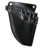 Samurai Hairdressing Hally Scissors Leather Holster Holder Pouch Bag Black