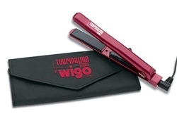 "Wigo Tourmaline Ceramic Ti Professional 1"" Inch Iron Model WG5323"