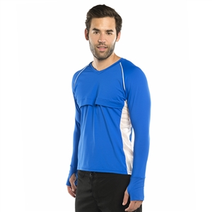 MEN'S LONG SLEEVE MAC SHIRT - ROYAL BLUE