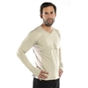 UV Protective Men's Long Sleeve MAC Shirt in Silver from Sun Protection Zone