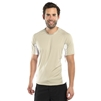 UV Protective Men's Short Sleeve Ultralite Shirt in Silver from Sun Protection Zone