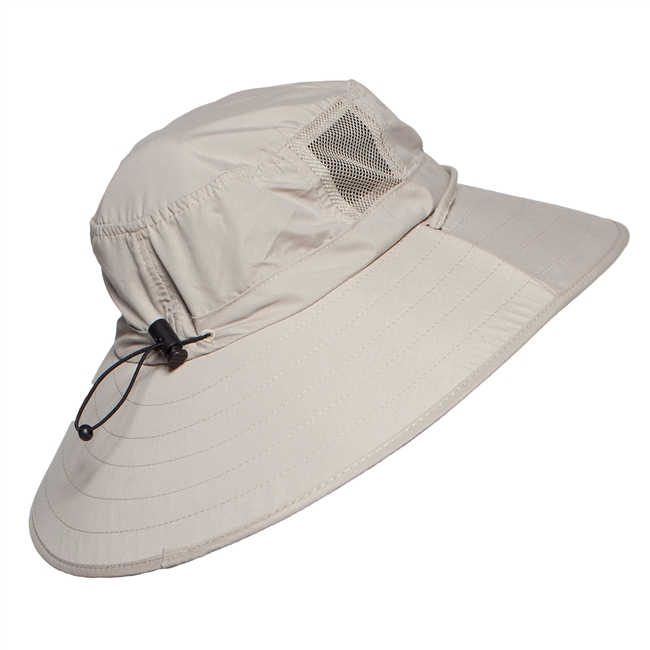 UV Protective Adult Booney Hat in Khaki from Sun Protection Zone