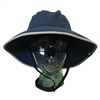 UV Protective Adult Booney Hat in Navy with Silver Trim from Sun Protection Zone