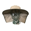 UV Protective Adult Floppy Hat in Khaki with Olive Trim from Sun Protection Zone