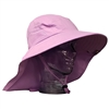 UV Protective Adult Floppy Hat in Lilac from Sun Protection Zone