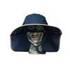 UV Protective Adult Floppy Hat in Navy with Silver Trim from Sun Protection Zone