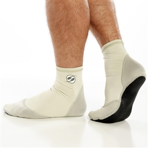 UV Protective H2O Mox Sox in Silver from Sun Protection Zone