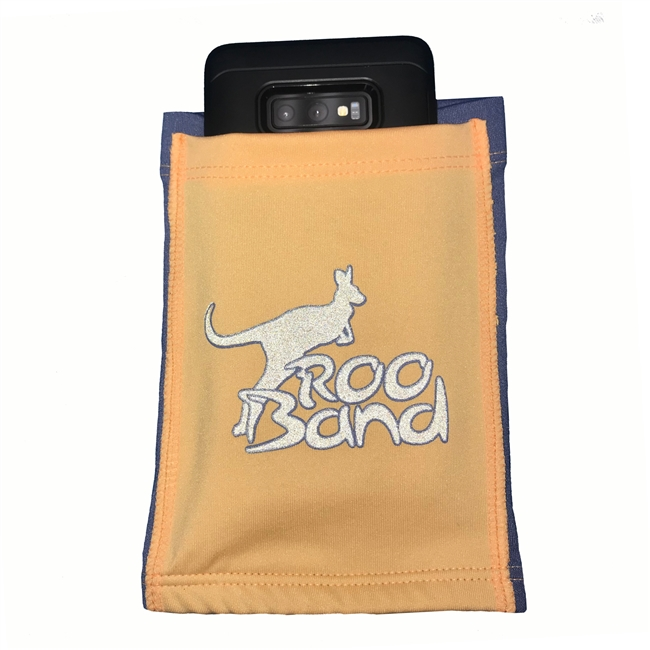 Adult Roo Band in Orange Velvet from Sun Protection Zone