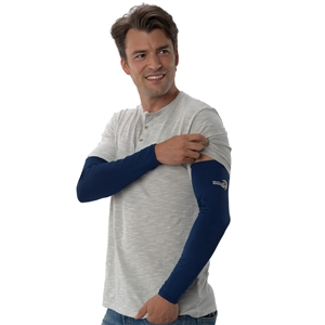 UV Protective Adult UV Sleevz in Navy from Sun Protection Zone