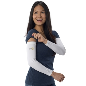 UV Protective Adult UV Sleevz in White from Sun Protection Zone