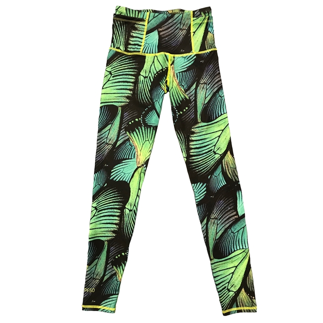 WOMEN'S SWIM LEGGINGS - WINGS