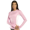 WOMEN'S LONG SLEEVE ULTRALITE SHIRT - LIGHT PINK