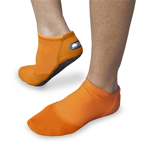UV Protective Women's Short Sand Sox in Sunset Orange from Sun Protection Zone