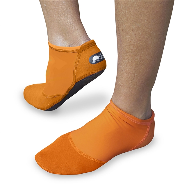 WOMEN'S SHORT SAND SOX - SUNSET ORANGE