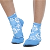 WOMEN'S SAND SOX - BLUE HIBISCUS