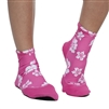 UV Protective Women's Sand Sox in Pink Hibiscus from Sun Protection Zone