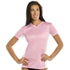 UV Protective Women's Short Sleeve Ultralite Shirt in Light Pink from Sun Protection Zone