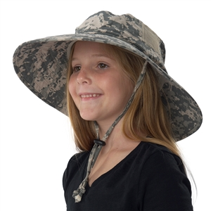 UV Protective Jr. Booney Hat in Digi Camo from Sun Protection Zone