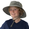 UV Protective Jr. Booney Hat in Olive from Sun Protection Zone