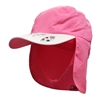 UV Protective Kid's UV Alert Legionnaire Hat in Pink Surfboard from Sun Protection Zone
