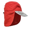 KID'S UV ALERT LEGIONNAIRE HAT - RED SHARK