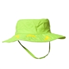 UV Protective Kid's Cowboy Safari Hat in Lime Green/Yellow Shark from Sun Protection Zone
