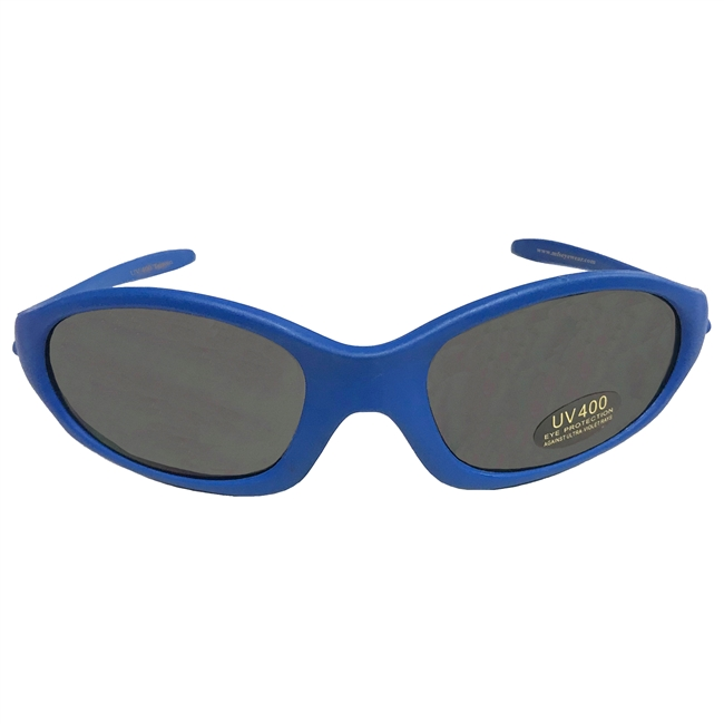 KID'S SUNGLASSES - METALLIC BLUE