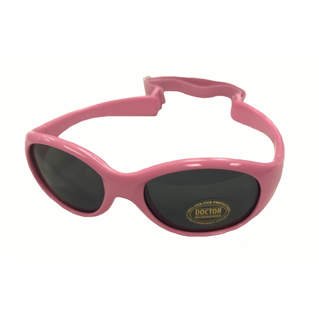 UV Protective Infant Sunglasses in Baby Pink from Sun Protection Zone