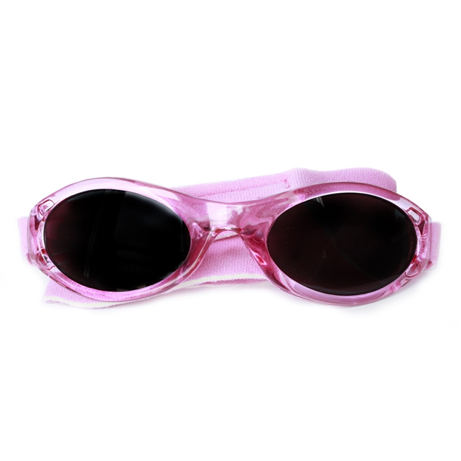UV Protective Infant Sunglasses in Bubblegum Pink from Sun Protection Zone