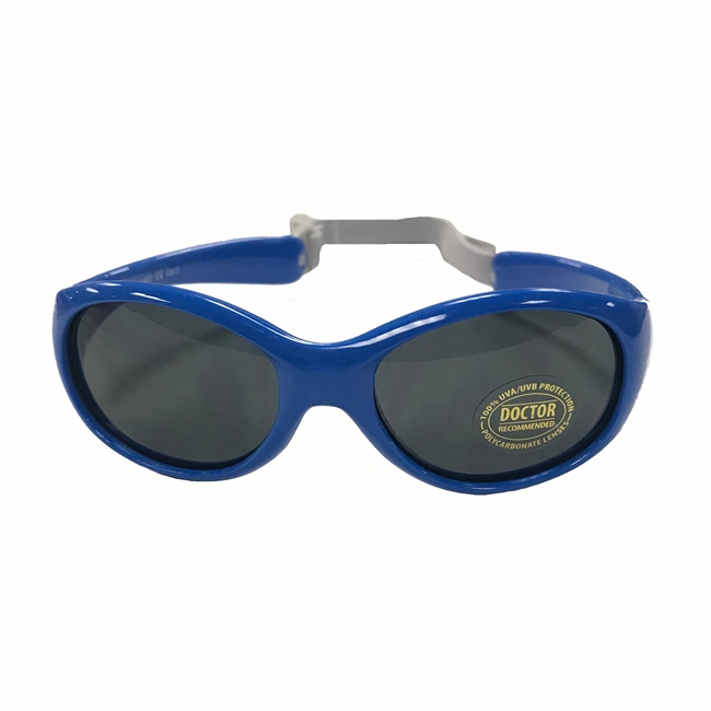 UV Protective Infant Sunglasses in Blue Wave from Sun Protection Zone