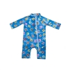 UV Protective Infant One-Piece Long Sleeve Suit in Flip Flops from Sun Protection Zone