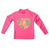 UV Protective Kid's Long Sleeve Rash Guard in Palm Shell from Sun Protection Zone