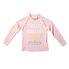 KID'S LONG SLEEVE RASH GUARD - SEA WAVE