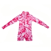 KID'S ONE-PIECE LONG SLEEVE SUIT - HIBISCUS