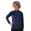 KID'S +4 RASH GUARD - BLUE FLAME