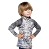 UV Protective Kid's +4 Rash Guard in Digi Camo from Sun Protection Zone