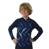 UV Protective Kid's +4 Rash Guard in Navy Shark from Sun Protection Zone