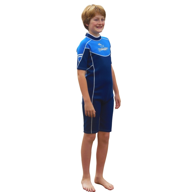 KID'S THERMOSKINZ WETSUIT - SEA BLUE