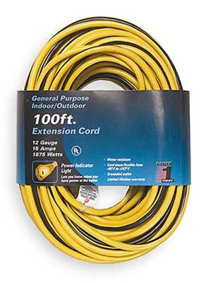 Power First Extension Cord 100 Ft